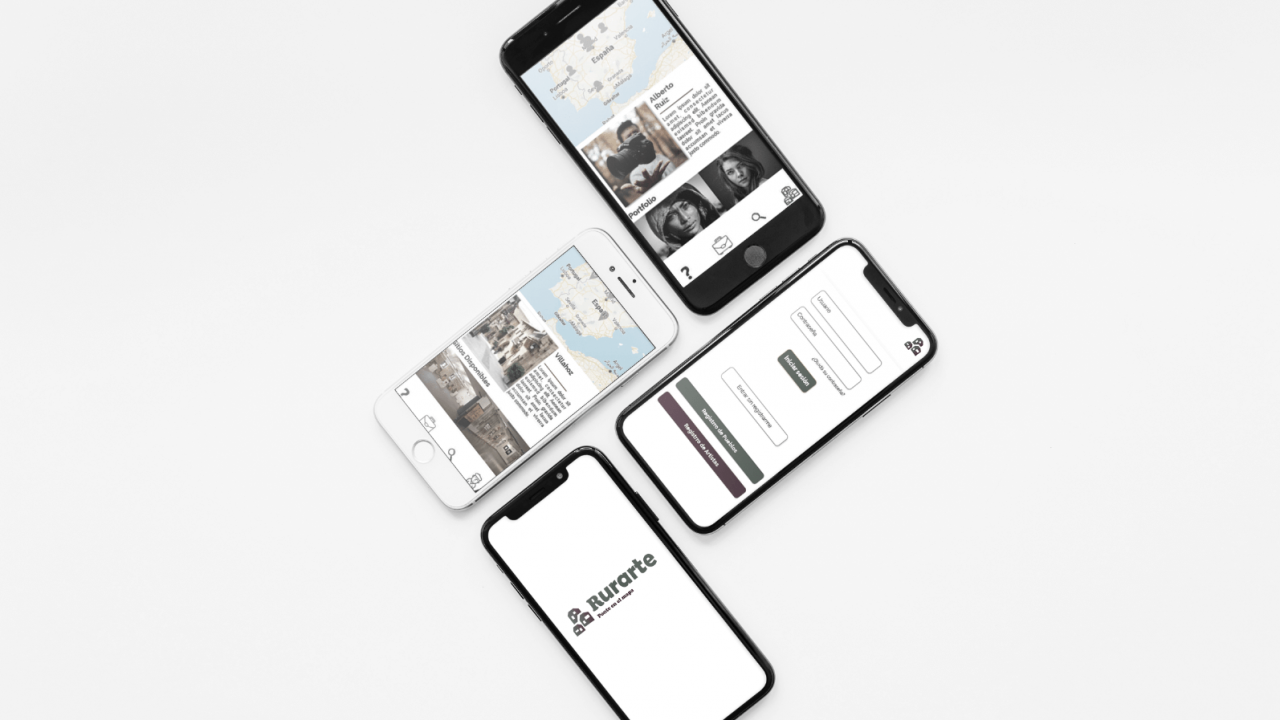 Rurarte – Prototipo App